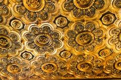 Soffitto dell'oro del palazzo ducale Immagini Stock Libere da Diritti