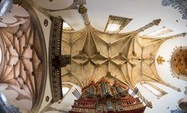 Soffitto della chiesa Fotografie Stock Libere da Diritti