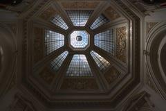 Soffitto della cupola nella costruzione Fotografia Stock Libera da Diritti