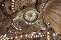 Soffitto della moschea Fotografia Stock Libera da Diritti