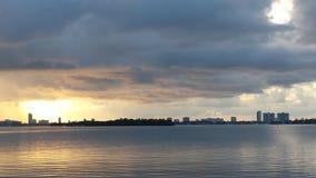 Soffitto della nuvola fotografia stock