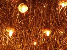 Soffitto delle luci Fotografia Stock