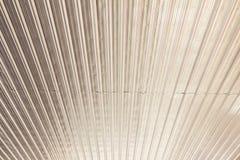 Soffitto di alluminio dello strato - usato come immagine del fondo Fotografie Stock Libere da Diritti