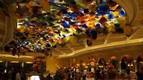 Soffitto di Bellagio a Las Vegas Fotografia Stock Libera da Diritti