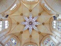 Soffitto di cattedrale Fotografie Stock