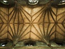 Soffitto di cattedrale della st Giles Immagini Stock Libere da Diritti