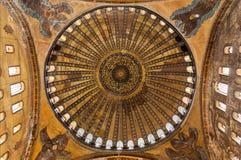 Soffitto di Hagia Sofia fotografia stock