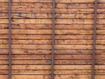 Soffitto di legno Fotografia Stock