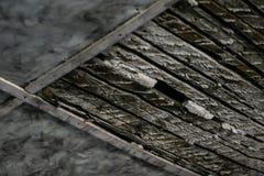 Soffitto di legno Fotografie Stock