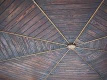 Soffitto di legno del palco dell'orchestra Fotografie Stock Libere da Diritti