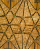 Soffitto di legno della chiesa Immagine Stock Libera da Diritti
