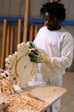 Soffitto di legno di ripristino Fotografie Stock Libere da Diritti