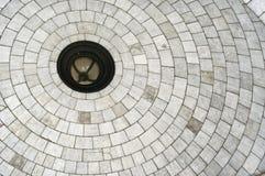Soffitto di pietra della volta Fotografia Stock