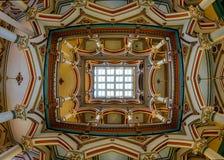 Soffitto di Richmond Old City Hall fotografia stock