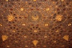 Soffitto di un palazzo andaluso Immagini Stock Libere da Diritti