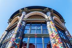 Soffitto di una costruzione storica che alloggia un negozio di Sting a L'aia, Paesi Bassi Immagine Stock