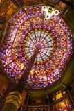 Soffitto di vecchio stato Campidoglio della Luisiana. Fotografia Stock