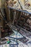 Soffitto di vetro a Barcellona fotografie stock libere da diritti