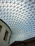 Soffitto di vetro, British Museum Fotografie Stock Libere da Diritti