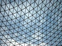 Soffitto di vetro, British Museum Immagini Stock