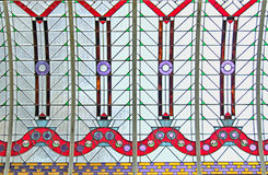 Soffitto di vetro macchiato Fotografia Stock Libera da Diritti