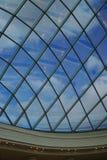 Soffitto di vetro trasparente immagine stock libera da diritti