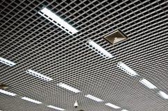 Soffitto ingranato alluminio Fotografia Stock Libera da Diritti