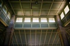 Soffitto interno del padiglione alla sosta di Rockcliffe Fotografie Stock