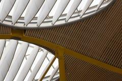 Soffitto moderno dell'aeroporto Immagini Stock