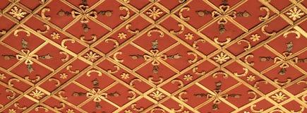 Soffitto nel palazzo di Topkapi a Costantinopoli Fotografia Stock Libera da Diritti