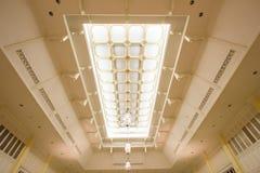 Soffitto nell'architettura coloniale tailandese di stile Immagine Stock Libera da Diritti