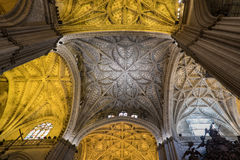 Soffitto ornamentale della chiesa Fotografia Stock Libera da Diritti