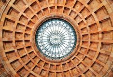 Soffitto rotunda Fotografie Stock