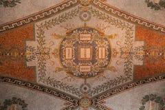 Soffitto Washington della biblioteca del congresso Fotografie Stock