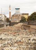SOFIA, ΒΟΥΛΓΑΡΙΑ - 8 ΟΚΤΩΒΡΊΟΥ 2017: Μουσουλμανικό τέμενος Djamilia του αιώνα 15 Στοκ εικόνα με δικαίωμα ελεύθερης χρήσης