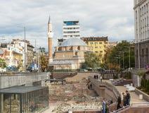 SOFIA, ΒΟΥΛΓΑΡΙΑ - 8 ΟΚΤΩΒΡΊΟΥ 2017: Μουσουλμανικό τέμενος Djamilia, builg σε 15 Στοκ εικόνες με δικαίωμα ελεύθερης χρήσης
