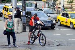 Στην οδό της Sofia Στοκ φωτογραφία με δικαίωμα ελεύθερης χρήσης