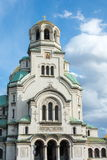 Sofia Alexander Nevsky-kerk stock afbeeldingen