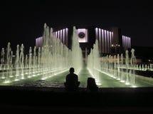 Sofia alla notte Fotografia Stock