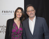 Sofia Baracka and Jean Reno Royalty Free Stock Photo