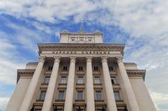 SOFIA BUŁGARIA, STYCZEŃ, - 03: Seat unicameral Bułgarski parlamentu zgromadzenie narodowe Bułgaria, na Styczniu 03, 2017 Fotografia Royalty Free