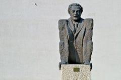 Sofia, Bu?garia, Listopad/- 2017: Statua w muzeum socjalistyczna sztuka obrazy stock