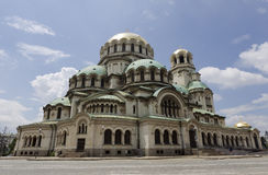 Sofia Bulgaria Alexander Nevsky Cathedral Royalty Free Stock Photo