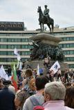 Sofia ,Bulgaria -14/05/2020 .Anti-government protests