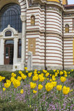 SOFIA, BULGARIA - APRIL 14: Central public mineral bath house in Royalty Free Stock Photos