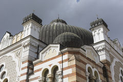 SOFIA BULGARIA APRIL 14 : The Sofia Synagogue is the largest syn Royalty Free Stock Image