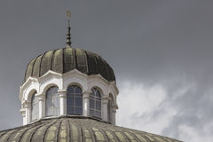 SOFIA BULGARIA APRIL 14 : The Sofia Synagogue is the largest syn Royalty Free Stock Images