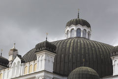 SOFIA BULGARIA APRIL 14 : The Sofia Synagogue is the largest syn Stock Images