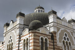 SOFIA BULGARIA APRIL 14 : The Sofia Synagogue is the largest syn Stock Photos