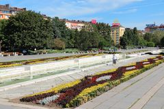 Park in Sofia, Bulgaria Stock Photo